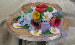 torta cappello paglia per nonna 004