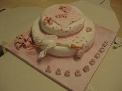 torta battesimo mia cicogna