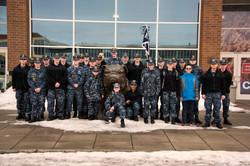 Cadets at Gonzaga