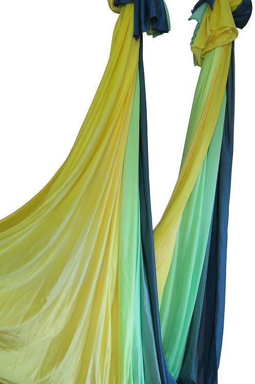 Meadow Ombre Aerial Dance Silk - 8.4 Meters