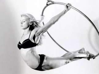I Tried an Aerial Hoop Workout