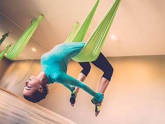 Anti-Gravity Yoga is Good for You and Your Aching Back