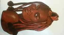 Himba tribe girl (2015)