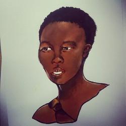Basarwa tribe girl (2015)
