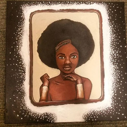 Vanity piece 2 by Tina Ramos Ekongo (2015)