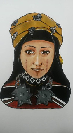 Berber girl by Tina Ramos Ekongo(15)