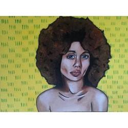 Portrait African Print 2
