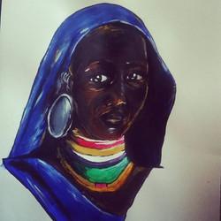Surma tribe girl (2015)