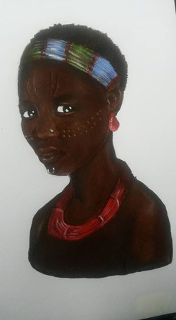 Toposa tribe girl (205)