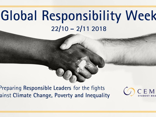 Global Responsibility Week - A CEMS Student Board Perspective