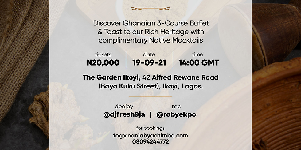 Taste of Ghana Food Pop-up