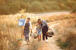 canva-happy-family-walking-on-rural-road