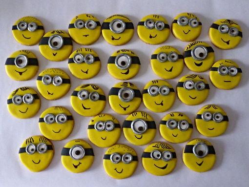 Galletas decoradas Bogotá Minions