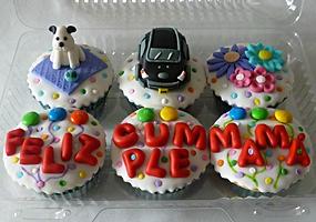 Cupcakes decorados Bogotá Cumpleaños