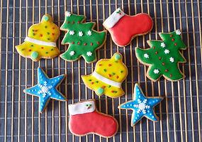 Galletas decoradas Bogotá Navidad