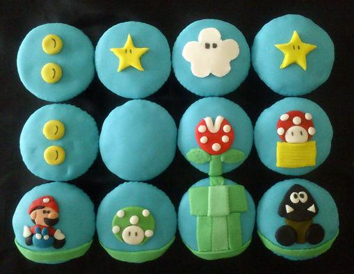 Cupcakes decorados Bogotá Mario Bros