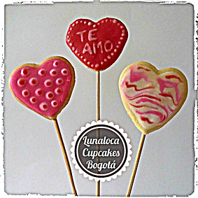 Cookiepops decorados Bogotá