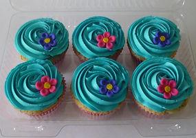 CUpcakes decorados Bogotá Flores
