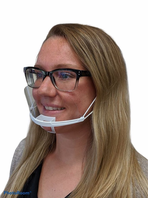 Plastic Face Mask - Pack of 10