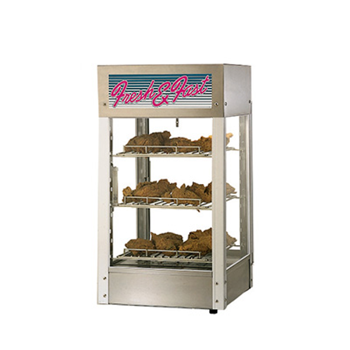 Hot Food Display Case w/Humidity Control