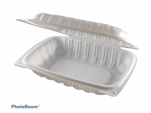 "Take-Out Container - 9"" x 6"" Clam Shell"