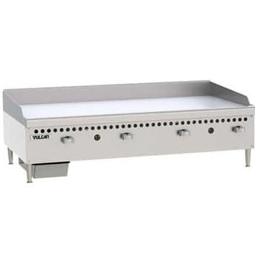 "Vulcan - Griddle 48"" Manual Controls"