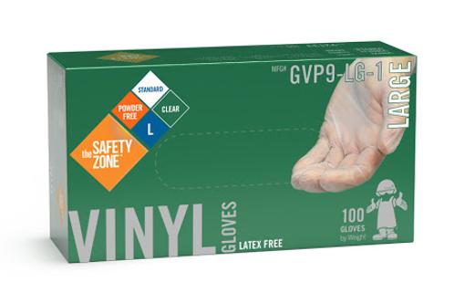 Disposable Vinyl Gloves - 100/bx