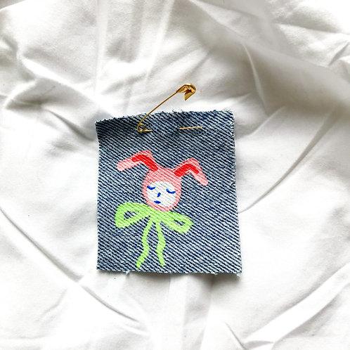 Little Bunny Pin