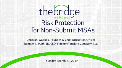 Risk Protection for NonSubmitMSAs_032119
