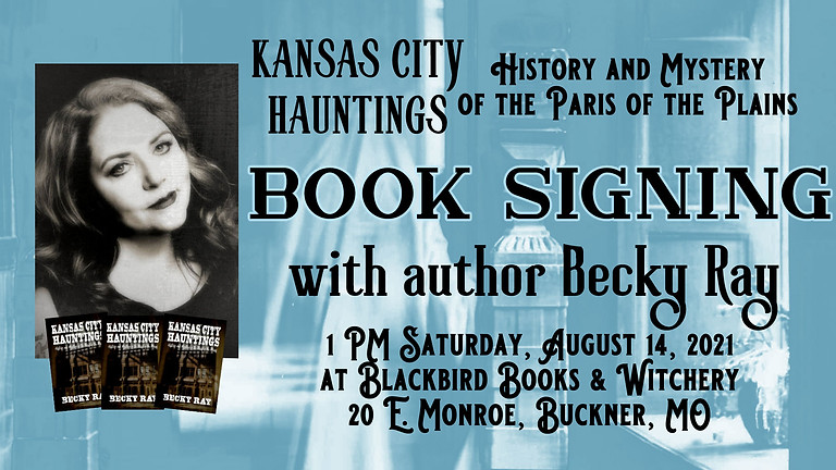 BOOK SIGNING at Blackbird Books & Witchery