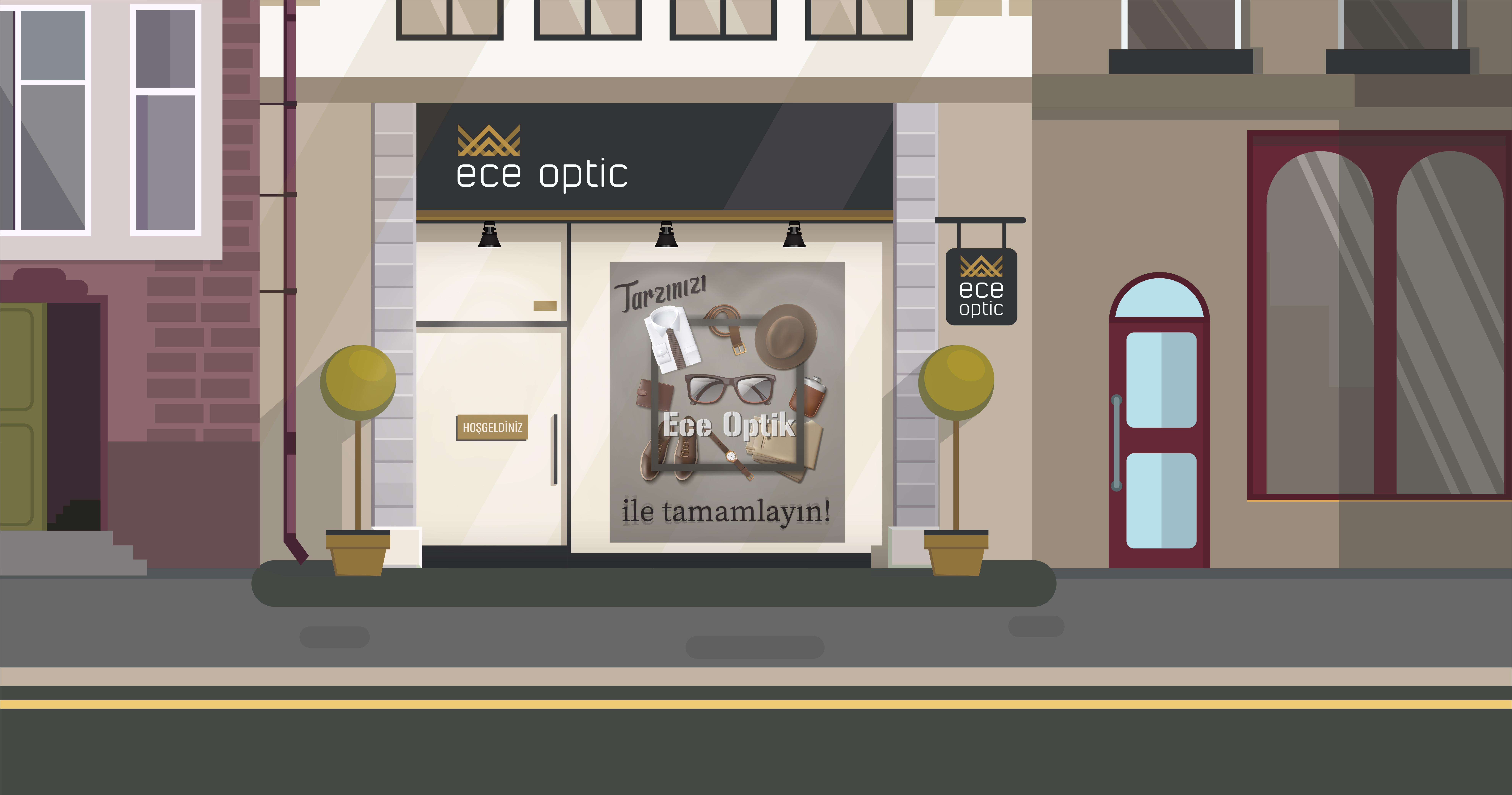 Ece Optik Illustration