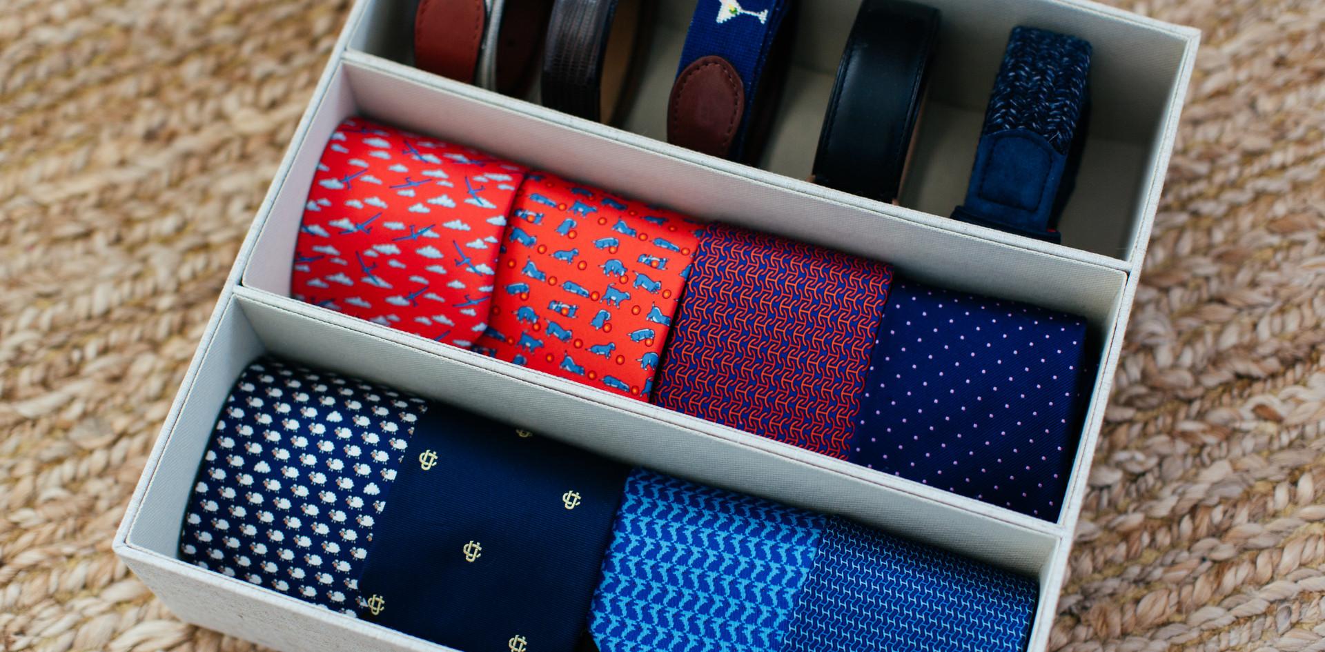 Men's Ties and Belts
