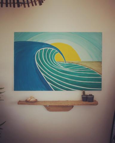PERSONALISED SURFCAMP ARTWORK