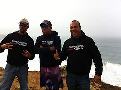 International Surf School Sagres' Instructors welcoming you to surf in Portugal