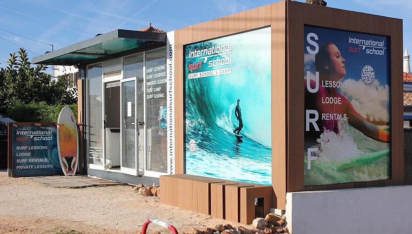 International Surf School Sagres Office