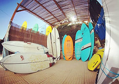 High range of surf boards to rent in Sagres, Portugal