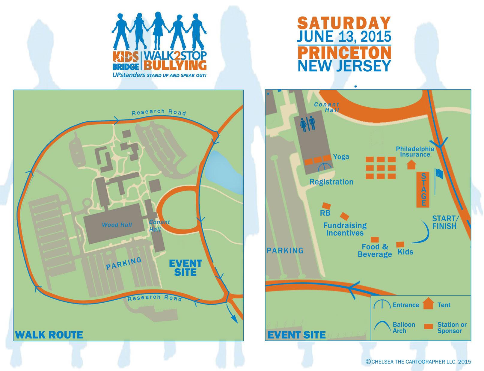 Kidsbrige Event Map