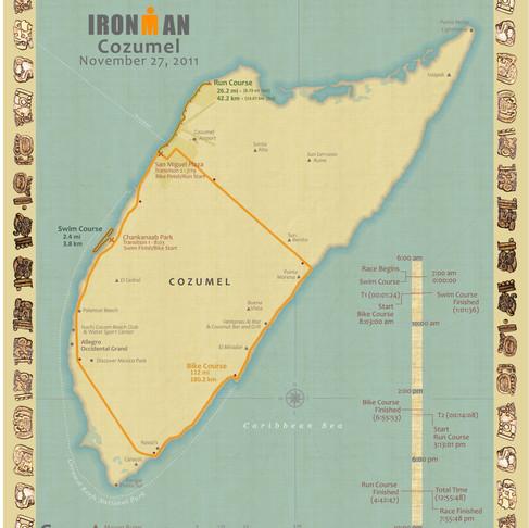 Triathlete Map