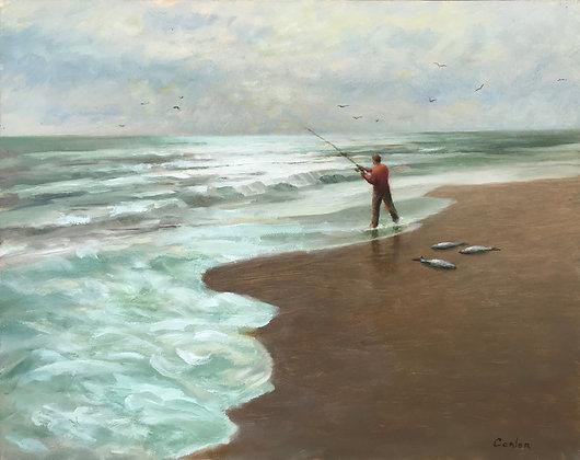 Michael Conlon - Surf Fisherman