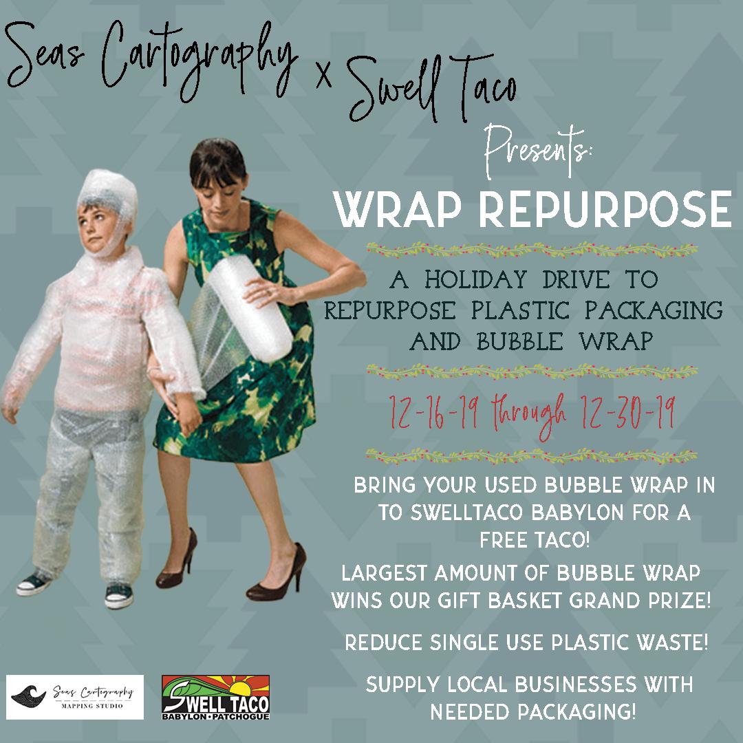 Eviornmental Awareness Fundraiser: Wrap Repurpose