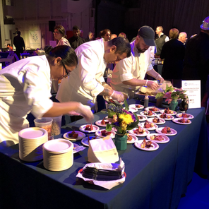 Delicious food from all our amazing chefs