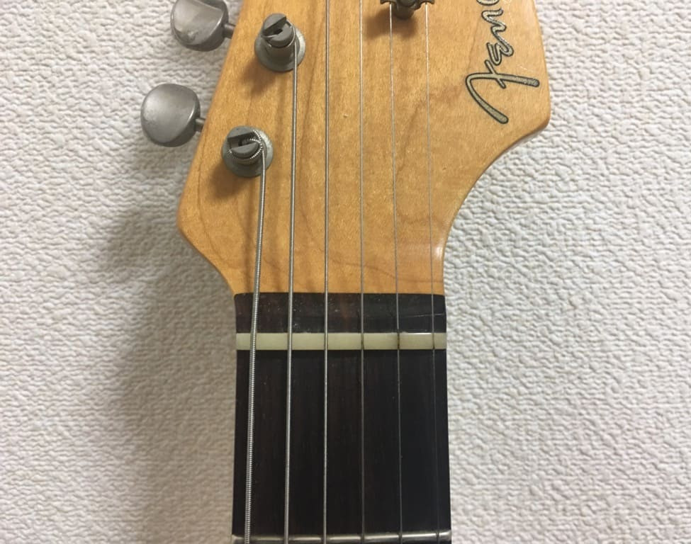 ギター、ナット