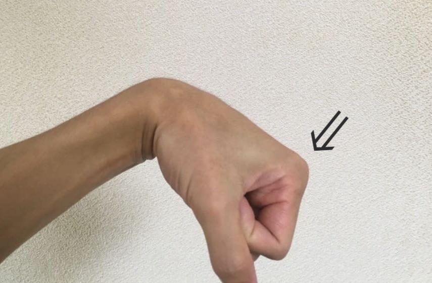 手のストレッチ方法③