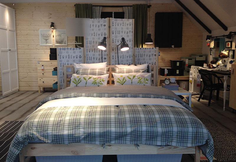 Schlafzimmer mit Multifunktion