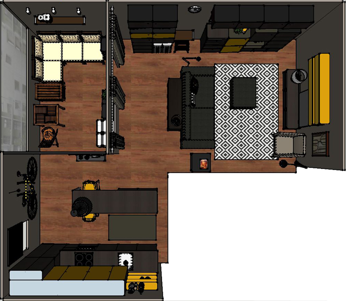 Wohnzimmer/Küche_03