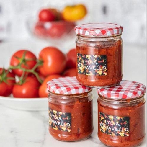Fresh Organic Tomato Sauce
