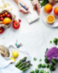 voeding, boodschappenlijst