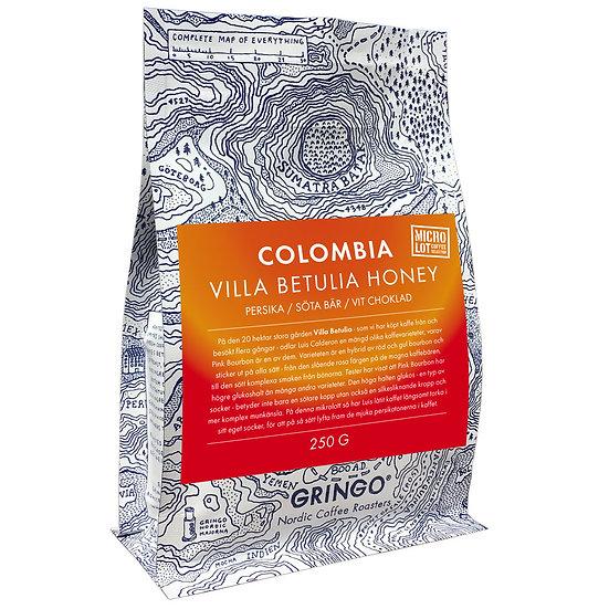 Colombia Villa Betulia Honey - Micro Lot