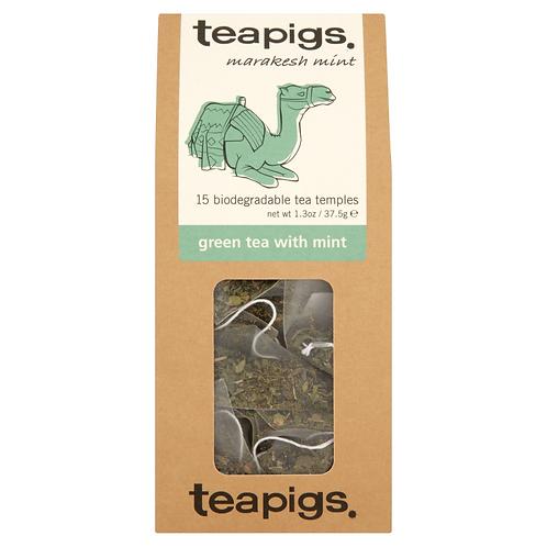 Teapig Green Tea with Mint