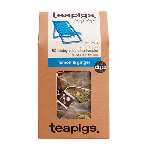 Teapigs Lemon & Ginger